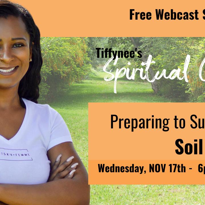 Tiffynee's Spiritual Garden: Preparing to Survey your Soil