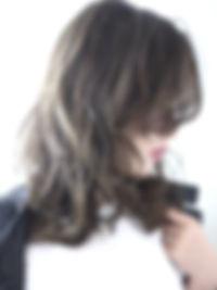 駅近い 外国人風 グラデーションカラー カラーが得意 心斎橋美容室 ハイライト アッシュ グレージュ カット ボブ デジタルパーマ