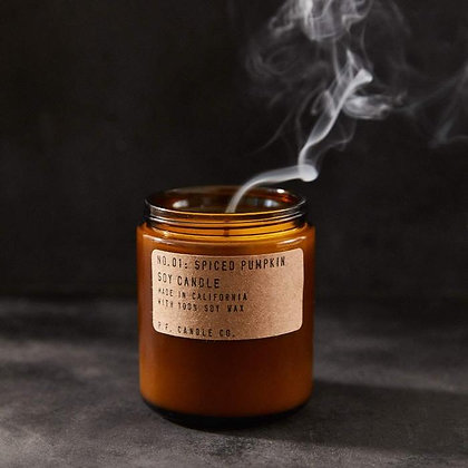 Spiced Pumpkin Candle