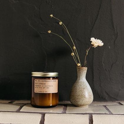 Sandlewood Rose Candle