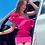 Thumbnail: Pink Cocktail One-Shoulder Dress