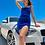 Thumbnail: Velvet Asymmetrical Short Dress