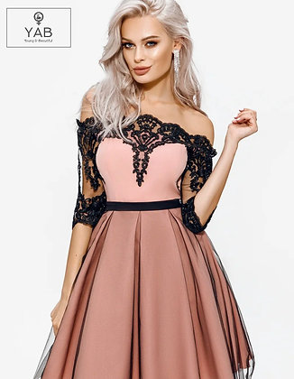 Elegant Flared Dress