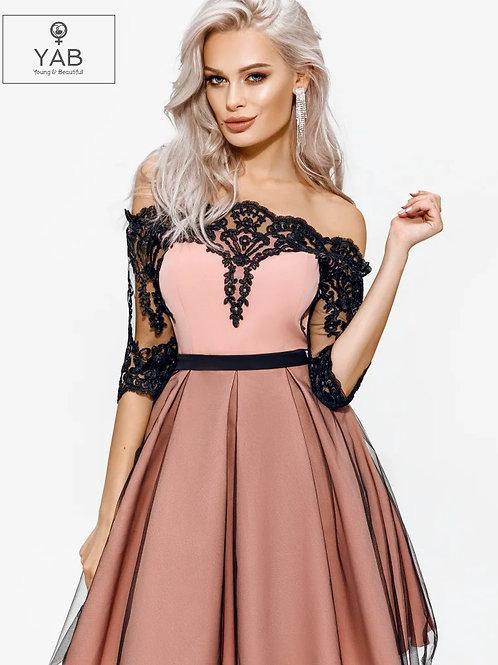 Elegant Flared Dress