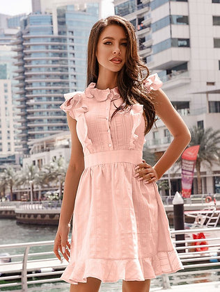 Delicate Fitted Dress