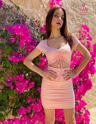 Summer Mini Cut-Out Dress