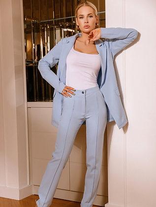 Sky Blue Business Suit