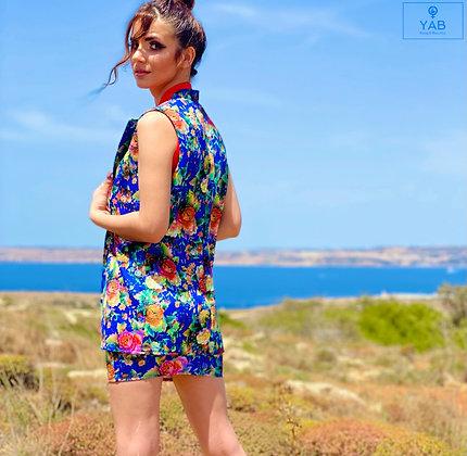 Stylish Floral Suit