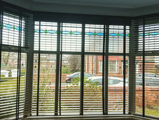 Venetian blinds fitted