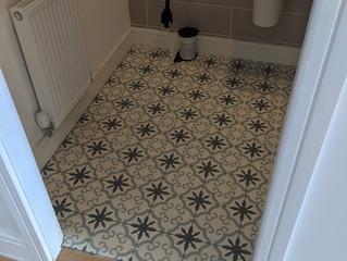 A spot of tiling