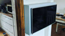 Bespoke wall mounted TV cupboard