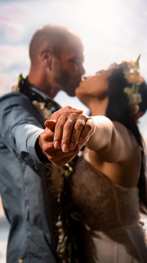 Bohemian Wedding Engagement Photos Maui Hawaii USA