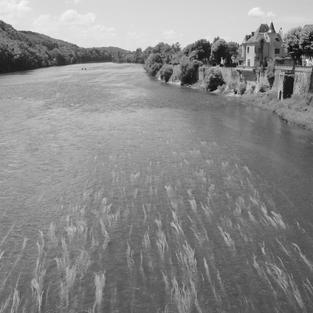 Dordogne River at Lalinde.