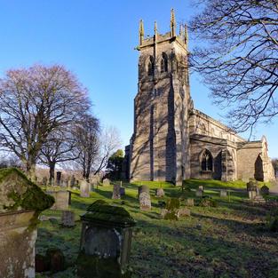 St Andrew's Church, Aysgarth, Yorkshire.