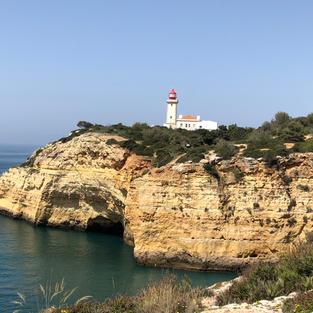 Alfanzina Lighthouse, Algarve