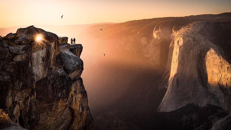 Best engagement photo Yosemite National park CA USA