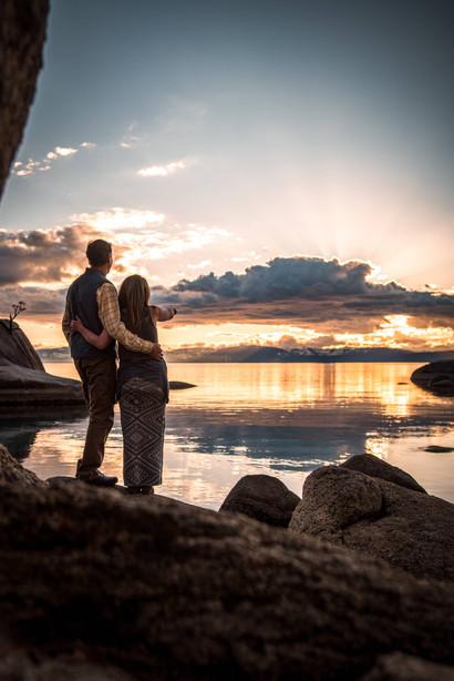 Lake Tahoe CA Engagement photo