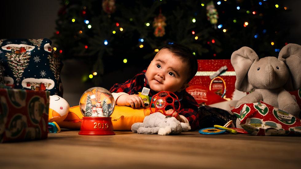 christmas family photography Colorado Springs CO