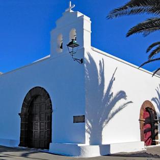 Lanzarote mountain church
