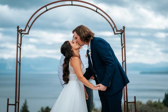 Lake Tahoe Intimate Wedding