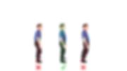 Bilden bskriver hur postural träning hjälper att hålla e bra och hälsosam hållning.