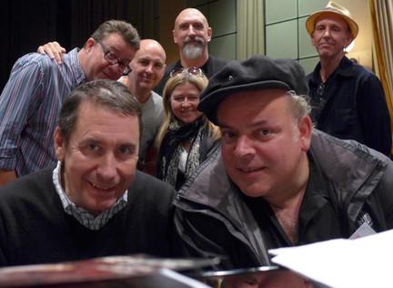 Mike at BBC Maida Vale studio for Jools Holland's new Radio 2 show