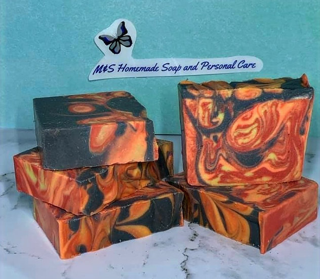 Tropical Volcano Soap