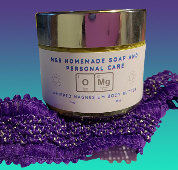 OMG Whipped Magnesium Body Butter