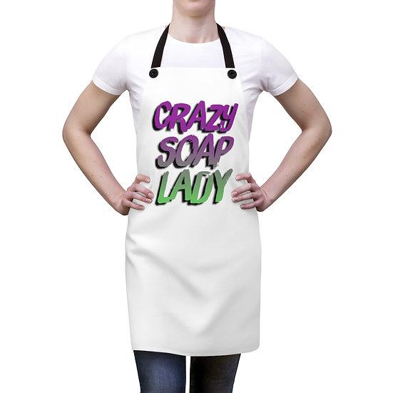Crazy Soap Lady- Apron