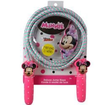 Minnie Bowtique Deluxe Jump Rope with Shaped Handles in 3D Blister
