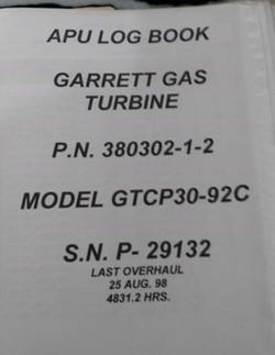 Garrett Air Research APU for sale_Page_3