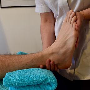 massage / Osteopathy foot pain