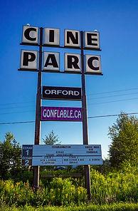 Ciné-Parc Orford Enseigne