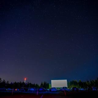 Les étoiles au Ciné-Parc Orford