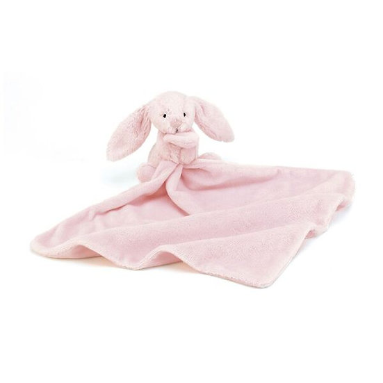 Bashful Pink Bunny Soother