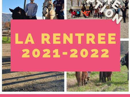 [INSCRIPTION RENTRÉE 2021-2022]