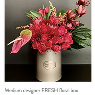 Medium Designer FRESH floral box R1250