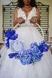 Beautiful Blue Bridal Bouquet