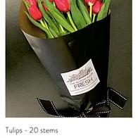 Tulips - 20 stems R350