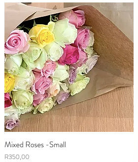 Mixed roses bunch R450