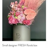 Small designer FRESH floral box R650