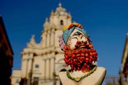 Polifemo con barba rossa