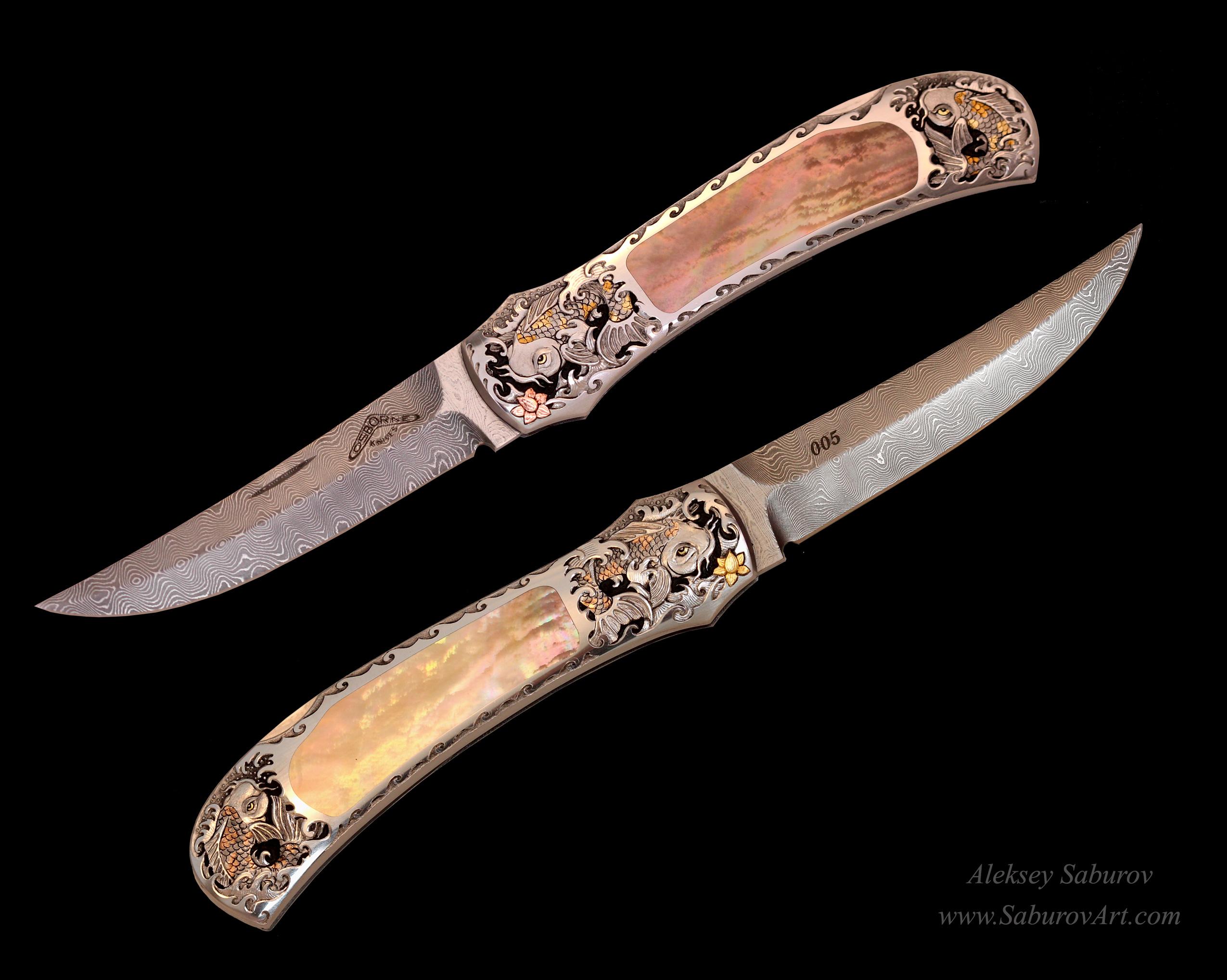 Koi Oriental knife