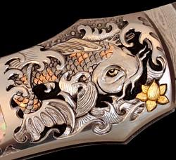 'Koi Oriental' knife