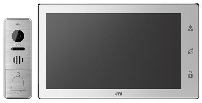 """Комплект CTV-DP4102 FHD, экран 10"""", запись фото/видео, переадресация на смартфон"""