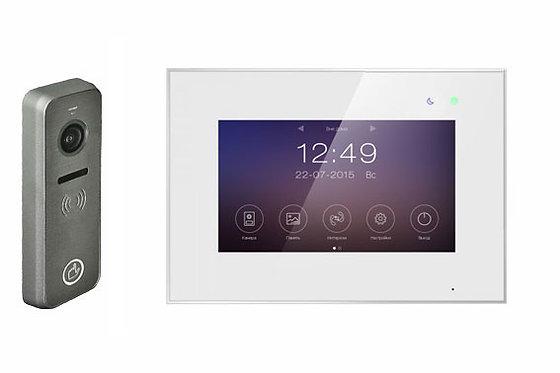 "Комплект MARILYN IPS, экран 7"", запись фото/видео, переадресация на смартфон"