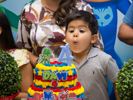 Comemoração dos 4 anos de Davi!