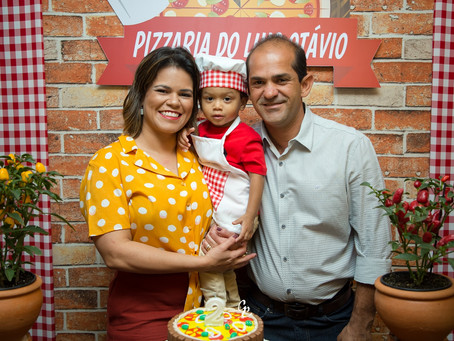 Pizzaria do Luis Otávio!