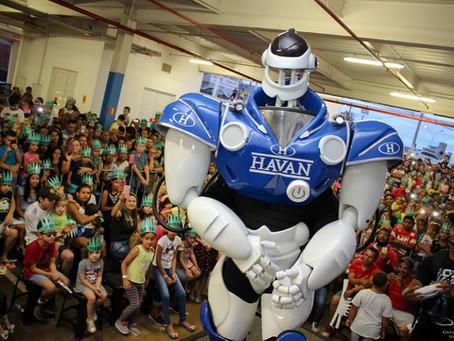 Liberdade e Robô Havan em Rio Verde!