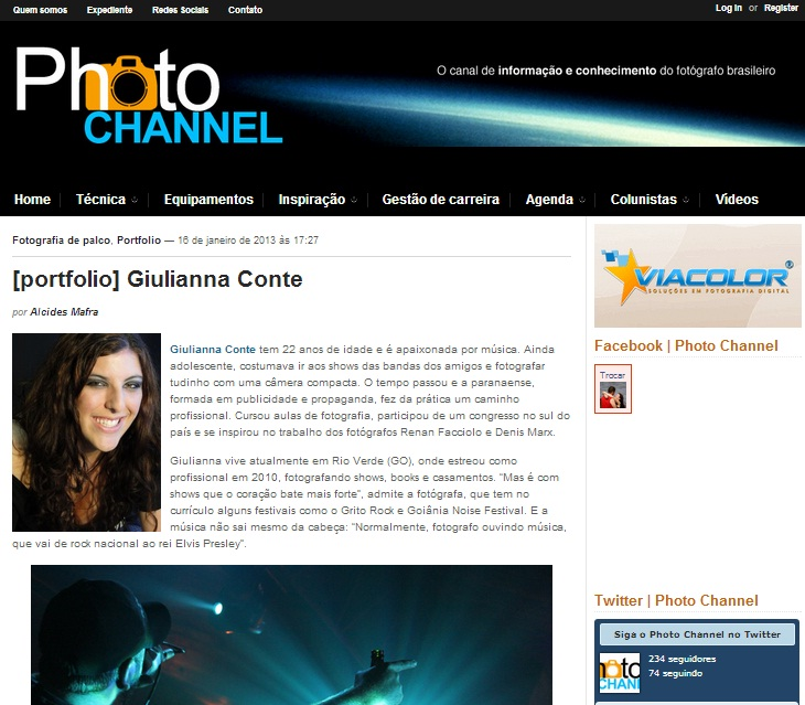 Portfolio PhotoChannel